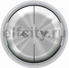 Клавиша для механизма выключателя жалюзи 8144 и 8144.1, серия SKY Moon, кольцо хром