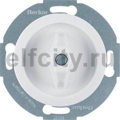 Выключатель, поворотный, универсальный (вкл/выкл с 1-го и 2-х мест), 10 А / 250 В, фарфор белый