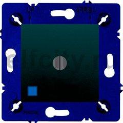 Выключатель поворотный с подсветкой, 10 А / 250 В, черный