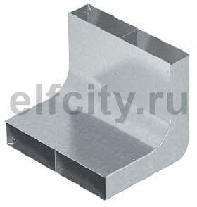 Вертикальный угол 90° кабельного канала EUK 250x48 мм (сталь)