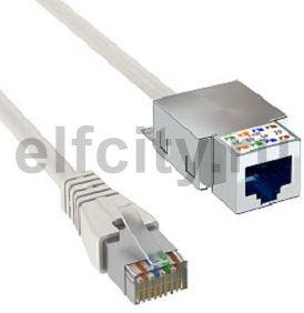 Патч-корд S/FTP 6 кат.экранир. 15 м (серый)