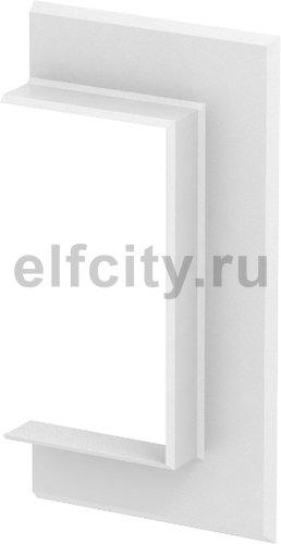 Настенная стыковая рамка кабельного канала Rapid 80 70x130 мм (ABS-пластик,белый)