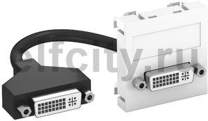 Мультимедийная рамка DVI Modul45 (белый)