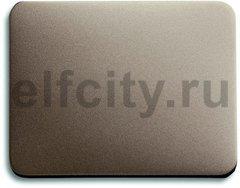 Клавиша для механизма 1-клавишного выключателя/переключателя/кнопки, серия alpha exclusive, цвет палладий