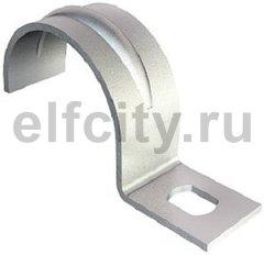 Крепежная скоба металл. однолапковая 13mm