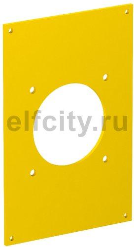 Рамка для монтажа электроустановочных изделий блока питания VH 160x105 мм (желтый)