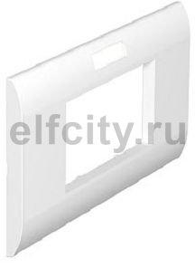 Декоративная рамка S990 для боксов Telitank двойная (белый)