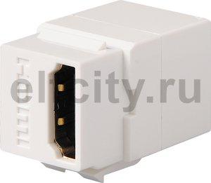 HDMI коннектор, цвет белый