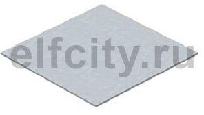Заглушка монтажного основания прямоугольная для GES4 205x205x3 мм (сталь)