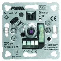 434 O.A. Мех-м светорегулятора 400W, для ламп накаливания и высоковольтных галогенных ламп