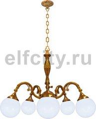 Люстра со стеклом - Milazzo III, цвет: светлое золото
