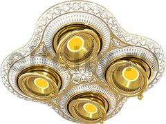 Точечный светильник San Sebastian Four, Gold White Patina