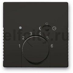 Плата центральная (накладка) для терморегулятора 1095 U/UF-507, 1096 U, серия Basic 55, цвет chateau-black