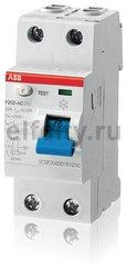 Выключатель дифференциального тока (ВДТ) 2P F202 AC-16/0,01