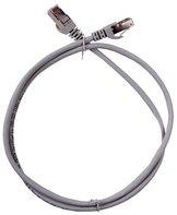 ITK Коммутационный шнур (патч-корд), кат.5Е UTP, 0,2м, серый
