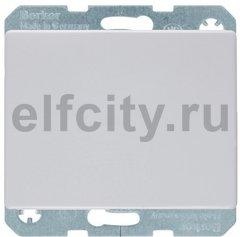 Выключатель одноклавишный, 10 А / 250 В, полярная белизна