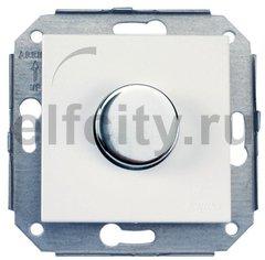 Светорегулятор поворотный 60-500 Вт. для ламп накаливания и галоген., 220В, металлик / сталь