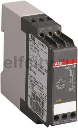 Трехфазное реле контроля напряжения CM-PFS (контроль обрыва и чередования фаз) 3x200-500В AC, 2ПК