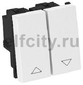 Выключатель для рольставней 10 A, 250 В (черный)