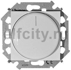 Диммер (светорегулятор) поворотно-нажимной для диммируемых LED ламп 5-215 Вт, 230 В, белый