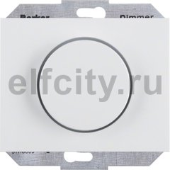 Диммер (светорегулятор) поворотный 60-400 Вт для ламп накаливания и галогенных 220В, полярная белизна