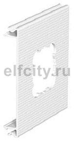 Приборная накладка для монтажа устройств 110x100 мм (ПВХ,кремовый)