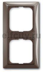 Рамка 2 поста, для горизонтального/вертикального монтажа, серый