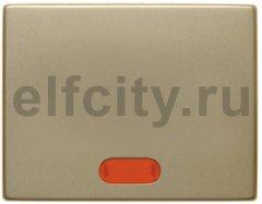 Клавиша в комплекте с 5 линзами, Arsys, металл, цвет: золотой