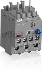Реле перегрузки тепловое T16-1.7 диапазон уставки 1,3А…1,7А для контакторов типа B6, B7, AS