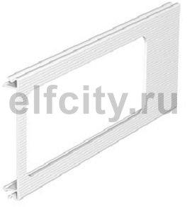 Приборная накладка для монтажа устройств 110x300 мм (ПВХ,кремовый)