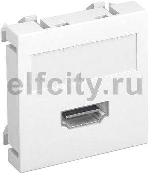 Мультимедийная рамка HDMI Modul45 (белый)
