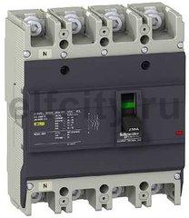 Автоматический выключатель EZC250 36 кА/415В 4П4Т 175 A