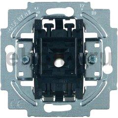 Механизм 1-клавишного, 1-полюсного выключателя, 10А 250В