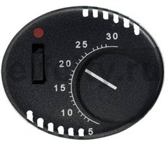Накладка для терморегулятора 8140.1, серия TACTO, цвет антрацит