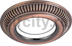 Точечный светильник Antique Round, темная бронза