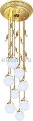 Люстра со стеклом FD1172 - Palermo II, цвет: светлое золото