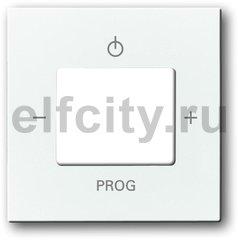 Плата центральная (накладка) для механизма цифрого FM-радио 8215 U, серия future/solo, цвет davos/альпийский белый