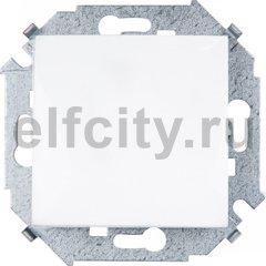 Выключатель одноклавишный, 10 А / 250 В, белый