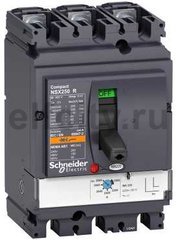 Автоматический выключатель 3П MA50 NSX100R(200кА при 415В, 45кА при 690B)