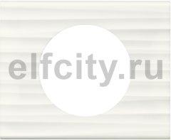Рамка - Программа Celiane - 1 пост - Corian Белый Рельеф