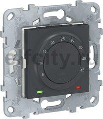 Термостат для электрического подогрева пола 250 В~ 10 А , для электрического подогрева пола, антрацит