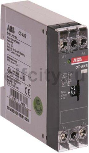 Реле времени CT-АKE п/проводниковое 24-220B AC/DC(задержка на от ключение) 3-300сек.