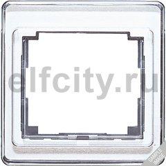 Рамка для вертикальной установки 3-кратная; белая