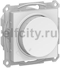Диммер (светорегулятор) LED, поворотно-нажимной 20-315 Вт, для светодиодных ламп и других типов, универсальный, 220В, белый
