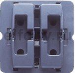 Механизм двойн. кнопки для жалюзи с электр. блокировкой