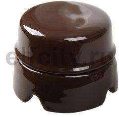 Распаечная коробка D85 коричневая