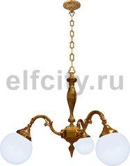 Люстра со стеклом - Milazzo I, цвет: светлое золото