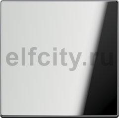 Выключатель одноклавишный перекрестный (вкл/выкл с 3-х мест) 10 А / 250 В, блестящий хром