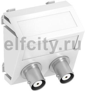 Мультимедийная рамка Audio-BNC Modul45 (белый)