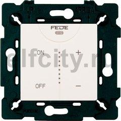 Диммер (светорегулятор) сенсорный 40-500 Вт для ламп накаливания и галогенных 220B, белый